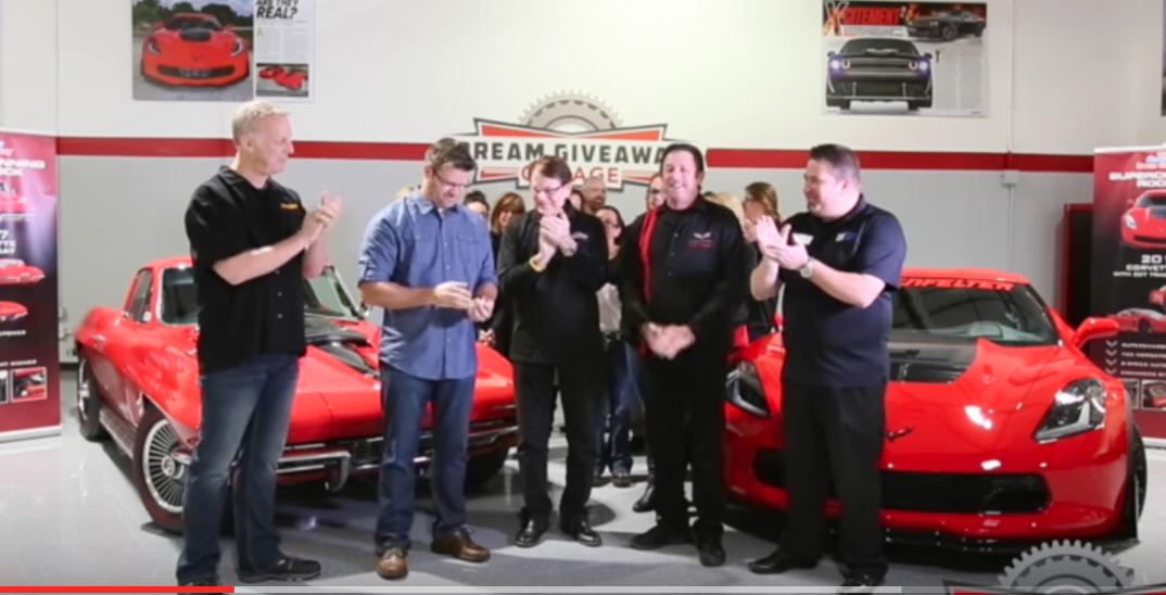 Dr. Park gets the keys and fires up the 67 Vette