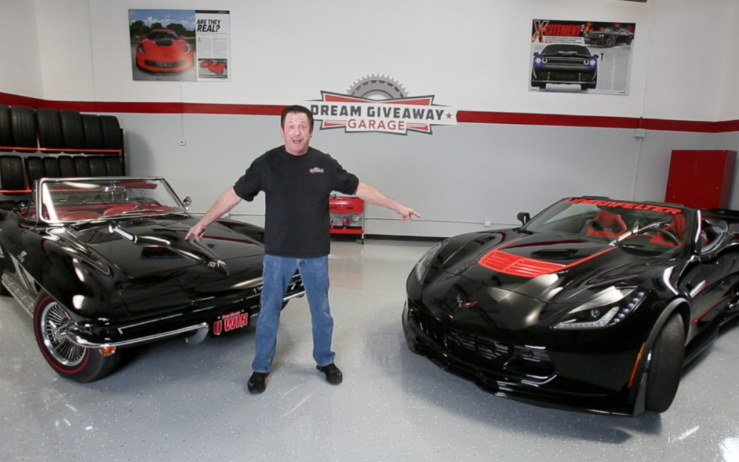 Behind The Scenes Of Dream Giveaway 2016 Corvette Commercial Shoot And Bloopers