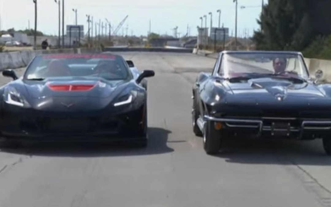 Racing two free Corvettes.  Who would you let drive the other if you win?
