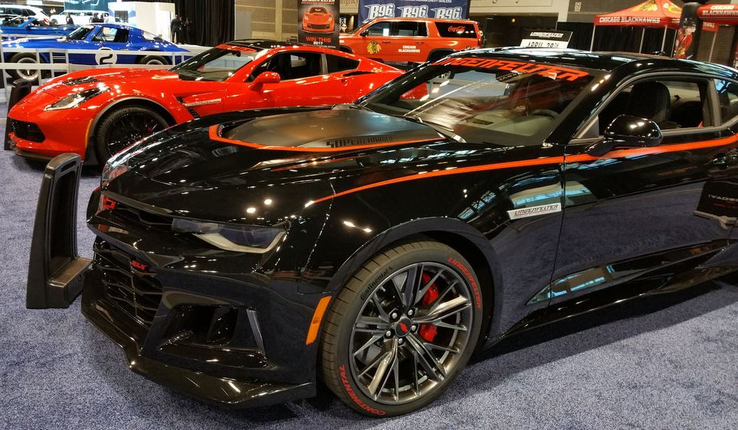Check Out This Bad Boy ZL1 Camaro With Custom Accents