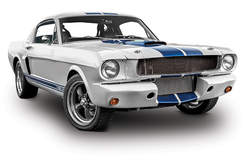 The 1965 Shelby Mustang GT350X took more than 2,000 hours of work!