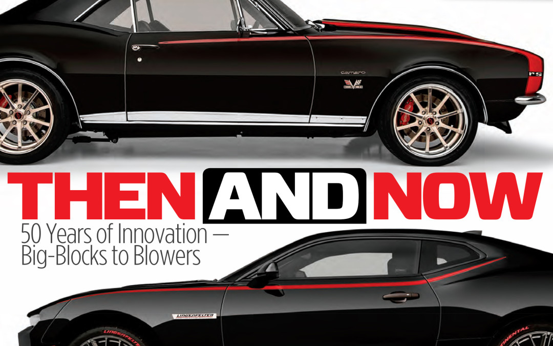 Dream Giveaway Camaros Make the Cover of Super Chevy Magazine