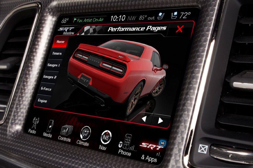 We Explore Some of the Coolest Features of the Hellcat's Cockpit Controls